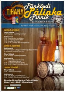 Tihanyi Pünkösdi Pálinka Piknik 2019 @ Mádl Ferenc tér