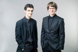 Stark János Mátyás hegedűművész és Ránki Fülöp zongoraművész
