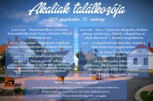 Akaliak találkozója @ Balatonakali