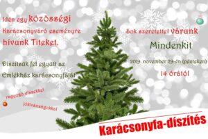 Karácsonyfa-díszítés @ Kisfaludy Sándor Emlékház