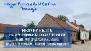 Megyer Pajta megnyitó ünnepség és gasztro piknik @ Megyer Camp Fesztivál