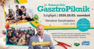 BalatoniKÖR GasztroPiknik- 1. állomás, Szigliget @ Várudvar - Gasztroplacc Szigliget