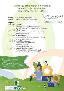 Online Tapasztalatátadó Workshop @ Online Zoom Konferencia