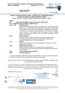 Tanulmányút a Bakony és Balaton KKKE térségében