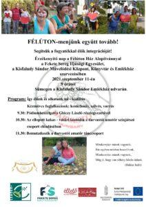 FÉLÚTON-menjünk együtt tovább! @ Kisfaludy Sándor Emlékház