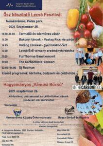 Ősz köszöntő lecsó fesztivál @ Nemesvámos