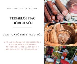 Dörgicsei termelői piac @ Dörgicse